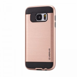 Ovitek soft gel Verus brušen (Rose Gold) - Samsung Galaxy S6 Edge