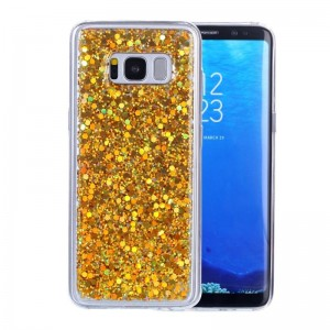 Ovitek soft gel Shiny (gold) - Samsung Galaxy S8