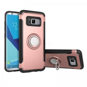 Ovitek soft gel Ring armor (Rose Gold) - Samsung Galaxy S8