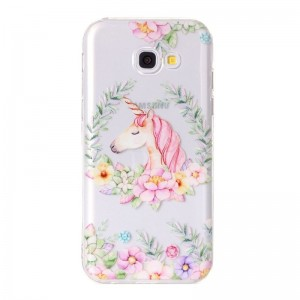 Ovitek soft gel Flower unicorn - Samsung Galaxy A5 (2017)