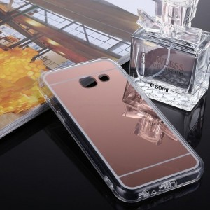 Ovitek soft gel Ogledalo (Rose Gold) - Samsung Galaxy A7 (2017)
