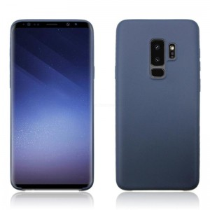 Ovitek soft gel Pure (temno moder) - Samsung Galaxy S9 Plus