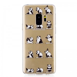 Ovitek soft gel Yoga panda - Samsung Galaxy S9 Plus