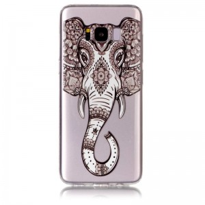 Ovitek soft gel Tattoo elephant - Samsung Galaxy S8