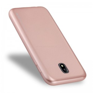 Ovitek soft gel Mercury Goospery Metal (Rose Gold) - Samsung Galaxy J7 (2017)