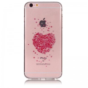 Ovitek soft gel Cherry heart - iPhone 6 Plus / 6s Plus