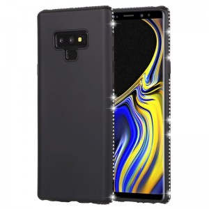 Ovitek soft gel Crystal (črn) - Samsung Galaxy Note 9