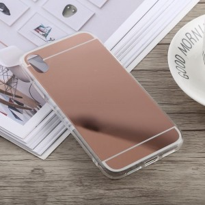Ovitek soft gel Ogledalo (Rose Gold) - iPhone XS Max
