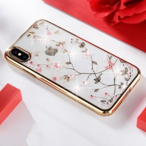 Ovitek soft gel Sulada Charming (zlat) - iPhone XS Max
