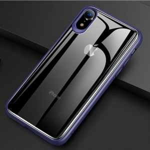 Ovitek Totudesign Ultra thin (moder) - iPhone XR