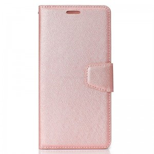 Preklopni etui Silk (Rose Gold) - Huawei Y6 (2018) / Honor 7A