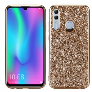Ovitek soft gel TPU Shiny (zlat) - Huawei Honor 10 Lite / Huawei P Smart (2019)