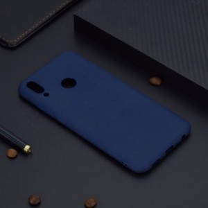 Ovitek soft gel TPU Candy color (moder) - Huawei Honor 10 Lite / P Smart (2019)