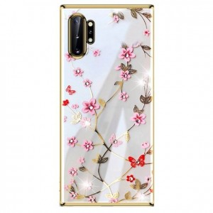 Ovitek soft gel Sulada charming z diamantki (zlat)  - Samsung Galaxy Note 10 Plus