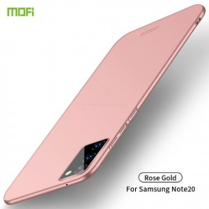 Ovitek ultra tanki Soft gel MOFI (rose gold) - Samsung Galaxy Note 20 / Note 20 5G