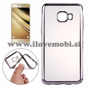 Ovitek soft gel Smooth (siv) - Samsung Galaxy A3 (2016)