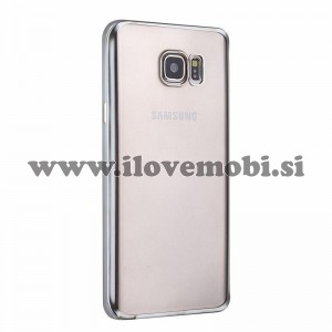 Ovitek soft gel Smooth (silver) - Samsung Galaxy S6 Edge