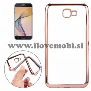 Ovitek soft gel Smooth (Rose Gold) - Samsung Galaxy J7 Prime