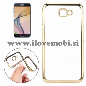 Ovitek soft gel Smooth (gold) - Samsung Galaxy J7 Prime