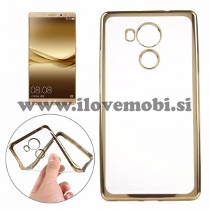 Ovitek soft gel Smooth (gold) - Huawei Mate 8