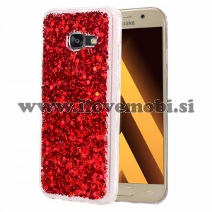 Ovitek soft gel Shiny (red) - Samsung Galaxy A5 (2017)