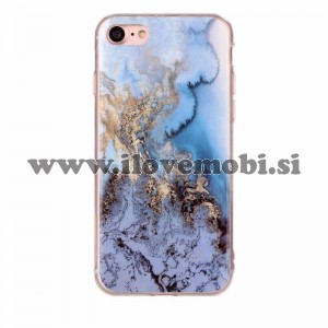 Ovitek soft gel Marmor (moder) - iPhone 7 / 8
