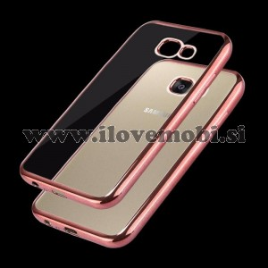 Ovitek soft gel Smooth (Rose Gold) - Samsung Galaxy A7 (2017)