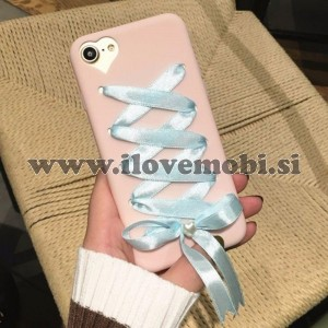 Ovitek soft gel Korzet (roza - moder) - iPhone 6 / 6S
