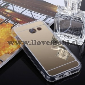 Ovitek soft gel Ogledalo (gold) - Samsung Galaxy A7 (2017)