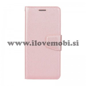 Preklopni etui Silk (Rose Gold) - Samsung Galaxy A6 (2018)