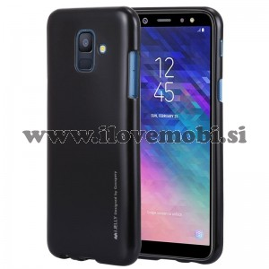 Ovitek soft gel Mercury Goospery Perfect (črn) - Samsung Galaxy A6 (2018)