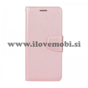 Preklopni etui Silk (Rose Gold) - Samsung Galaxy A8 Plus (2018)