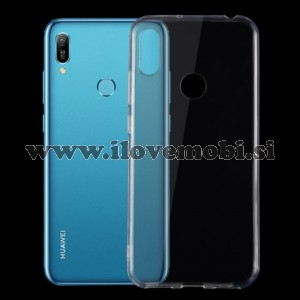 Ultrathin Soft gel ovitek (prozoren) - Huawei Y6 (2019)