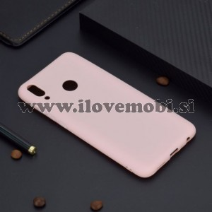 Ovitek soft gel TPU Candy color (roza) - Huawei Honor 10 Lite / P Smart (2019)