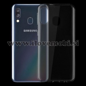 Ovitek soft gel TPU ultratanek 0,75mm (prozoren) - Samsung Galaxy A40