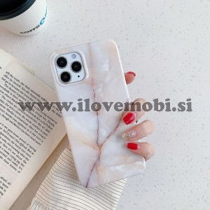 Ovitek soft gel TPU z vzorem marmorja (svetel) - iPhone 12 Mini